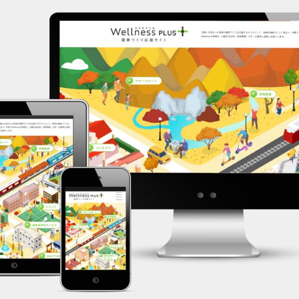 健康づくり応援サイトWellnessPLUSサイトリニューアル